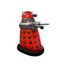 Doctor Who Small Inflatable Red Dalek « Game Searches