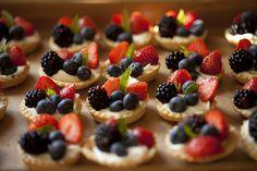 #food #f4f #foodporn #tarts #dessert #desserts #sweets #fruit #blueberries #raspberries #yum