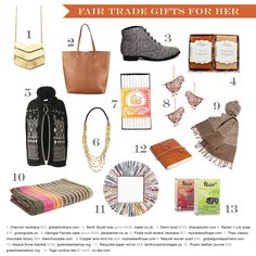 #fairtrade gift guide for her