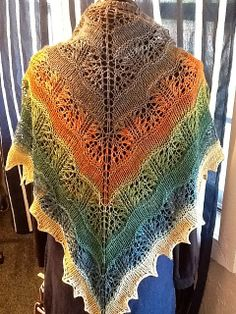 how stunning!! beautiful work! WovenSpun's My 2nd Yarden Attempt love the color change