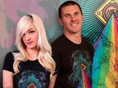 Share to Win via Spreeify - Experience a New Wardrobe of Graphic T-Shirts from Design By Humans