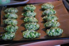 Zasněžený koláč,brokolicové válečky a slaninovky | ...to,co mě baví