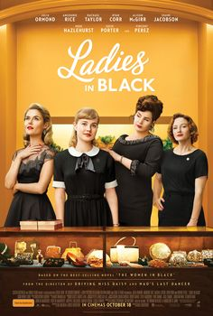 Julia Ormond, Rachael Taylor, Angourie Rice, and Alison McGirr in Ladies in Black 2018 Movies, New Movies, Movies To Watch, Good Movies, Movies Online, Movies And Tv Shows, Popular Movies, Hindi Movies, Julia Ormond