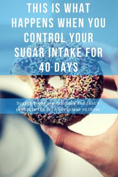 At the beginning, withdrawal of sugar can cause withdrawal symptoms. But once you survive this initial phase – you can quickly see and feel the positive effects. Health Heal, Health And Nutrition, Health Tips, Lose Fat, How To Lose Weight Fast, Sugar Withdrawal Symptoms, 40 Day Fast, How To Control Sugar, Detox Symptoms