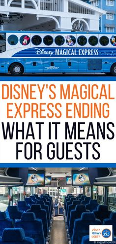 Ziggy Knows Disney tells us that Disney announced that it is discontinuing the popular Disney Magical Express transportation service starting on January 1, 2022. Disney's Magical Express is a service that provides guests free transportation to and from the Orlando International Airport to the Walt Disney World Resort Hotel they are staying at. Read all the details here. #disney #disneyworld #disneytravel Disney World Secrets, Disney World News, Disney World Tips And Tricks, Disney Tips, Disney World Resorts, Disney Vacations, Disney Travel, Best Disney Park, Disney Day