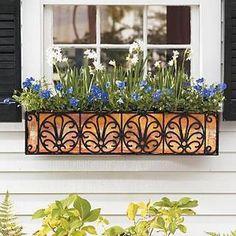 jardinera de hierro para ventanas buscar con google