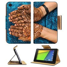 Asus Google Nexus 7 2nd Generation Flip Case a design on hands against a black background Photo 13396631 by Liili Customized Premium Deluxe Pu Leather generation Accessories HD Wifi Luxury Protector * Find out more about the great product at the image link.