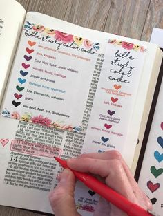 Study Your Bible Creatively with this Feminine Color Coding Key [Bible Highlighting Color Code Connect your Creativity and Faith with this Bible Study Color Code Printable from Embracing the Lovely Bible Study Notebook, Bible Study Tips, Bible Study Journal, Scripture Study, Bible Journaling For Beginners, Family Bible Study, Bible Study Plans, Bible Notes, Prayer Journals