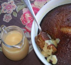 Mmmm, traditional South African Malva pudding recipe!