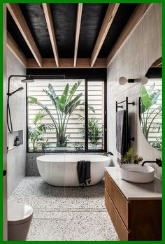 This Elwood Residence Is Putting A New Face Forward bathroom interior design exotic spa decor Bathroom Interior Design, Interior Design Living Room, Living Room Designs, Studio Interior, Kitchen Interior, Kitchen Design, Bathroom Design Layout, Cafe Interior, Modern Interior