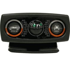 Clinometer w/ Graphics & Compass for Wrangler JK 2007-2018 Rampage
