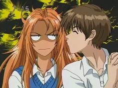 Peach Girl- Momo and Kairi Old Anime, Manga Anime, Anime Songs, Gekkan Shoujo, Dark Skin Girls, Manga Books, Anime Costumes, Cute Japanese, I Love Anime