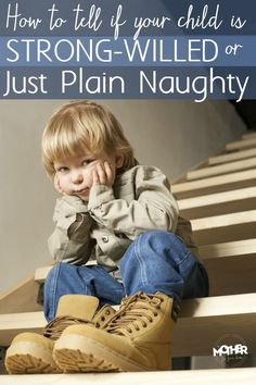Does your child seem to exhibit naughty or defiant behavior that leads you to believe they are very strong-willed? You might be surprised at the real truth. Good read for mothers particularly of toddlers, preschoolers, and smaller children.