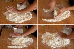 Pie crust technique