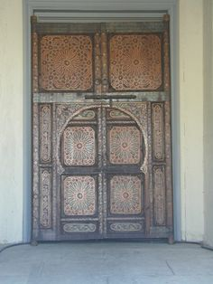 http://www.e-mosaik.com/ Moroccan party door