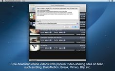 With iFunia #VideoDownloader, you will download videos from the most popular online video websites like Break, DailyMotion, Blip, Veoh, Metacafe, Bing, Flickr, and Vimeo to your computer. https://itunes.apple.com/us/app/ifunia-videodownloader/id413622895?mt=12