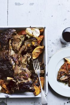 Middle Eastern Rose-Scented Falling Apart Lamb from Chilli Notes...   DonalSkehan.com