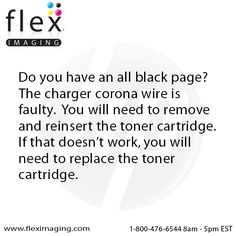 Do you have an all black page?  You can do this to resolve the issue.  http://www.fleximage.com