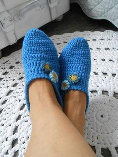 Papuče v modrom / anas - SAShE. Slippers, Shoes, Fashion, Moda, Zapatos, Shoes Outlet, Fashion Styles, Slipper, Shoe