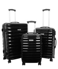 Luggage Zone, black suitcase Signup with this invite address: https://secretsales.com/invitations/detail/Three-black-hard-shell-spinner-cases-1224531?invite=11388857