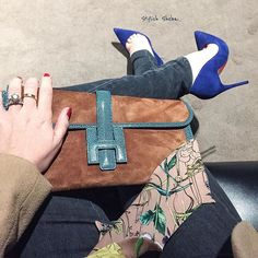 #WhatIWore to dinner and a movie - #HermesJige and #Louboutins