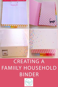 One of my organisational goals for Jan-Feb was to set up a family/household binder. A household binder is a folder which contains important information and relevant documentation for quick and easy access. It can include categories such as food, medical, school info, finance, contact info, travel, c