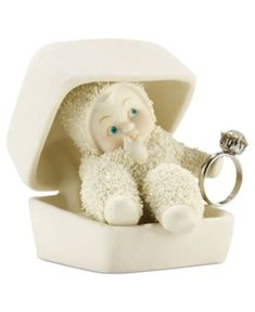 snow bunny figurines  | Department 56 Collectible Figurine, Snowbabies SnowDream Diamonds are ...