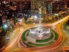 Photograph by Hiroyuki Matsumoto/Getty Images  Paseo de la Reforma, Mexico City