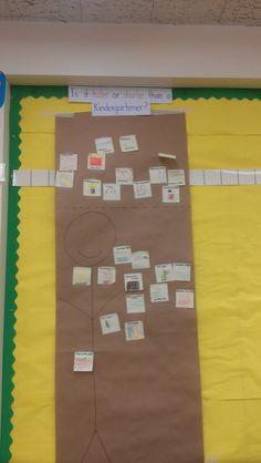 Measurement in kindergarten.