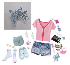 """""""Little Town Flirt"""" by lolitadelrey ❤ liked on Polyvore featuring claire's, Nila Anthony and vintage"""
