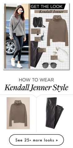 """get the look :: kendall jenner"" by pastelmalfoy on Polyvore featuring Wrap, Yves Saint Laurent, Kenneth Cole and Fendi"
