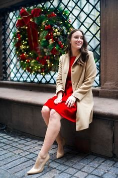 Bow Dress at the New York Palace | Covering the Bases | Fashion and Travel Blog New York City