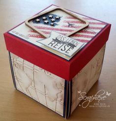 Explosionbox USA, Reise, Stampin' Up!, scraphexe.de                                                                                                                                                                                 Mehr