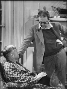 Will Rogers and John Ford