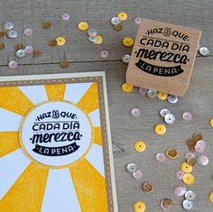 mrwonderful_sello_haz_que_cada_dia_merezca_la_pena_04  Se vende en: www.mrwonderfulshop.es #sello #stamp #DIY