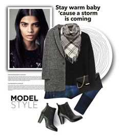 """Storm is Coming!"" by edenslove ❤ liked on Polyvore featuring Zara, rag & bone, Alexander Wang, Barbour, SWEET MANGO and MICHAEL Michael Kors"