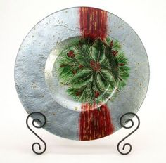 Holiday Gifts : Holly Berry Plate