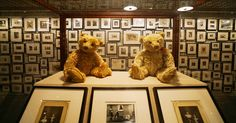 At the New Museum, children can learn about collecting, decorate bears and pose…
