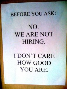 13 best now hiring signs images on pinterest now hiring sign find