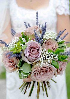 Bouquet idea with lavender