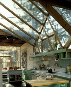Greenhouse kitchen! Grow cook eat