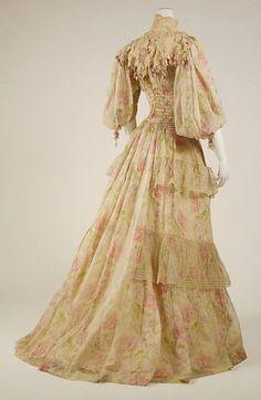 Art Nouveau - Robe du soir - 1903