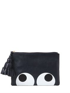 Anya Hindmarch leather clutch