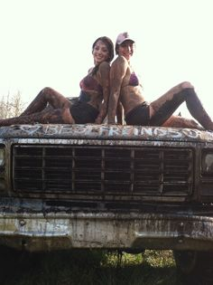 Best Friends country & redneck photo in the mud