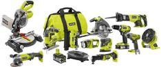 DIY  Tools Ryobi Tool Kit 18v