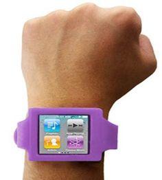 iCoverLover - iPod Nano 6G Purple Wrist Band, $24.95 (http://www.icoverlover.com.au/ipod-nano-6g-purple-wrist-band/)