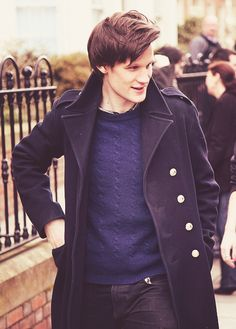Matt Smith (the Doctor of Doctor Who). He is my favorite Doctor so far, and his face is nice:)