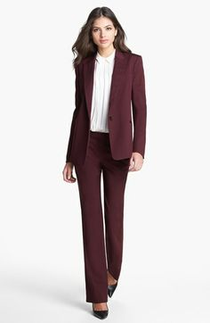 Theory Blazer & Pant Suit  available at #Nordstrom
