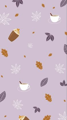 Cute Fall Wallpaper, Halloween Wallpaper Iphone, Holiday Wallpaper, Cute Patterns Wallpaper, Purple Wallpaper, Wallpaper S, Baking Wallpaper, Screen Wallpaper, Wallpaper Quotes