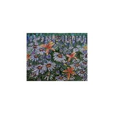 Decorative Wall Tiles, Perennial, Wall Decor, Tapestry, Wallet, Amazon, Flower, Garden, Painting